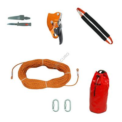 Аварийный комплект Climbing Technology SPARROW 200 с веревкой L = 40 м/ AG003-040 - Фото № 10
