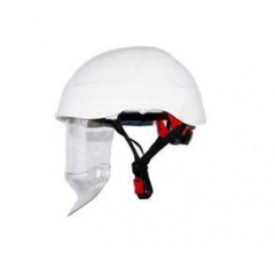 Каска HUBIX SECRA электроизоляционная со щитком / белая / H058/S/W