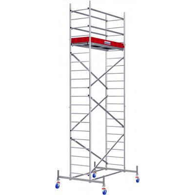 Передвижные подмости ProTec Aluminium 6,3 м