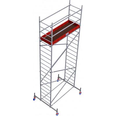 Передвижные подмости ProTec Aluminium 6,3 м - Фото № 2