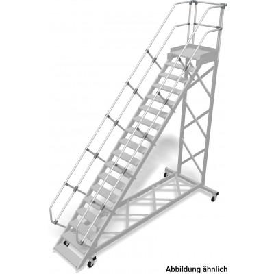 Лестница с передвижной площадкой