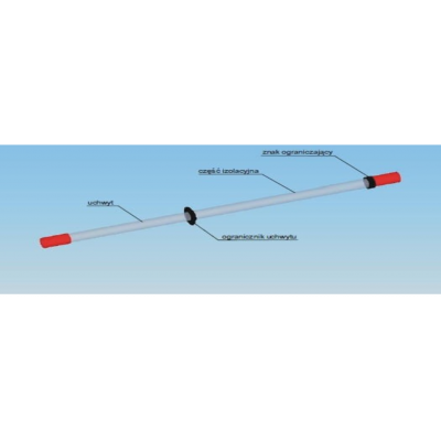 Всасывающая трубка с упором хвата HUBIX L=1200мм / H091-01