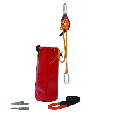 Аварийный комплект Climbing Technology SPARROW 200 с веревкой L = 50 м/ AG003-050 - Фото № 1