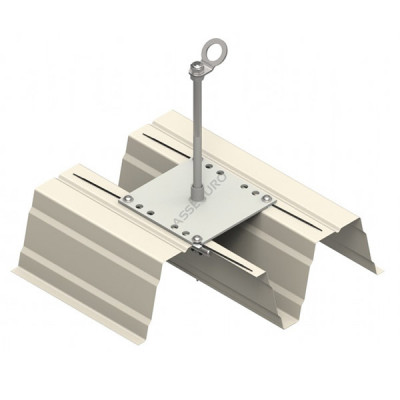 Столбик INNOTECH Quadrat 13 / h = 400 мм / без винтов / EAP-QUAD-13-400 - Фото № 2