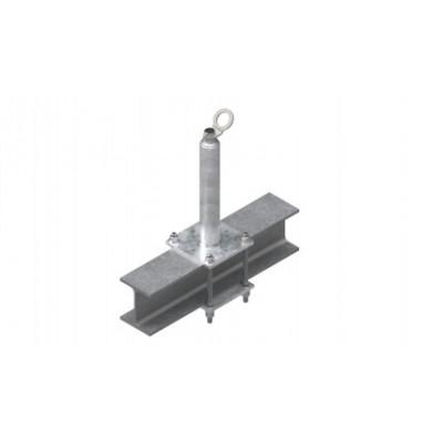 Столбик статический INNOTECH STABIL 10 / h = 600 мм / бетон, дерево, сталь / EAP-STABIL-10-600 - Фото № 2