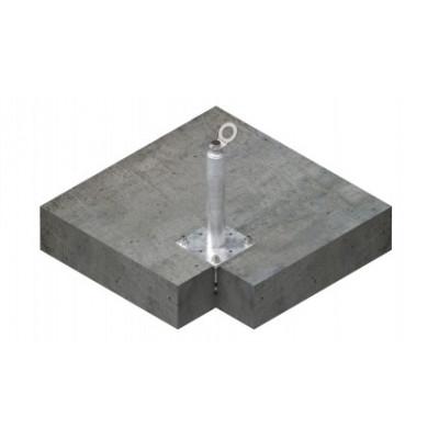 Столбик статический INNOTECH STABIL 10 / h = 300 мм / бетон, дерево, сталь / EAP-STABIL-10-300 - Фото № 2