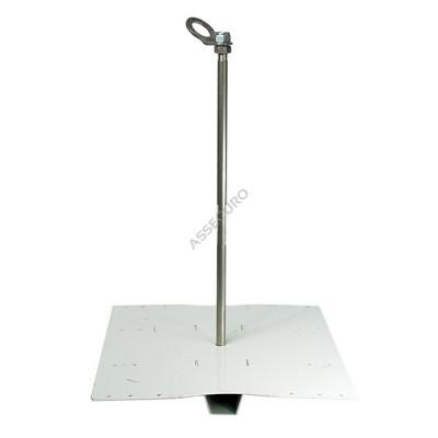 Столбик INNOTECH Quadrat 12 / для трапециевидного листа / h = 500мм / винты в комплекте/ EAP-QUAD-12-500 - Фото № 4
