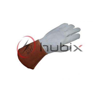 Перчатки кожаные HUBIX размер 10 / H045/D-10