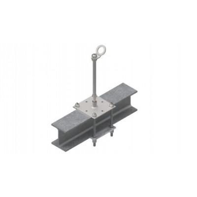Столбик INNOTECH Quadrat 10 / сталь, бетон / h = 300 мм / без винтов/ EAP-QUAD-10-300 - Фото № 2