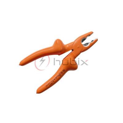 Пасатижи силовые с изолированной рабочей частью HUBIX 200 мм / HS-10-200