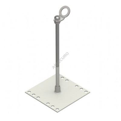 Столбик INNOTECH Quadrat 13 / h = 500 мм / без винтов / EAP-QUAD-13-500