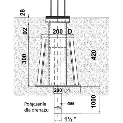 Крепление консольного анкерного устройства IKAR (в бетон)/ AT4157/3 - Фото № 2