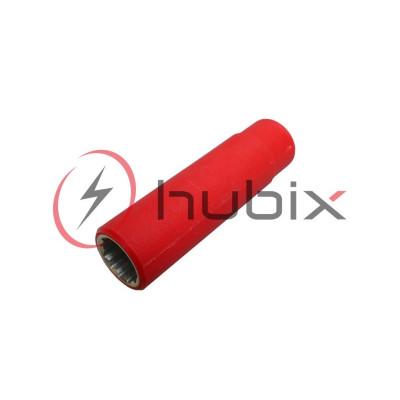 Головка длинная изолированная HUBIX 1/2 17 мм / HNL-17