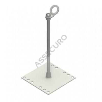Столбик INNOTECH Quadrat 13 / h = 300 мм / без винтов / EAP-QUAD-13-300 - Фото № 1