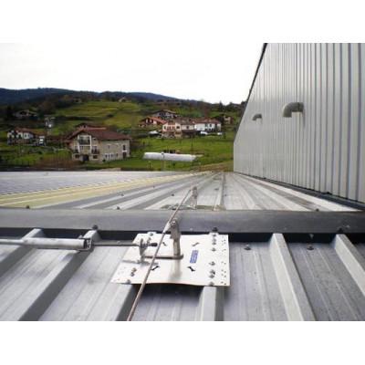 Стационарная тросовая система горизонтальной страховки INNOTECH ALLinONE AIO для крыши - Фото № 4