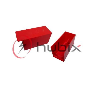 Защита зажимов HUBIX ВМ жесткая, короткая / H054-K