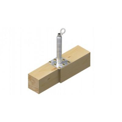 Столбик статический INNOTECH STABIL 10 / h = 600 мм / бетон, дерево, сталь / EAP-STABIL-10-600 - Фото № 3