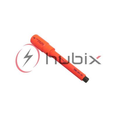 Насадка изолированная шестигранная HUBIX 10мм L=140мм / HNIL-10-140