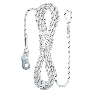 Фал ASSECURO из плетенного шнура Ø 11 мм / AJ560-петля / 10 м / CM110010 HP