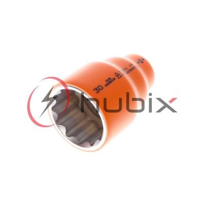 Головка короткая изолированная HUBIX 1/2 30 мм / HN-30