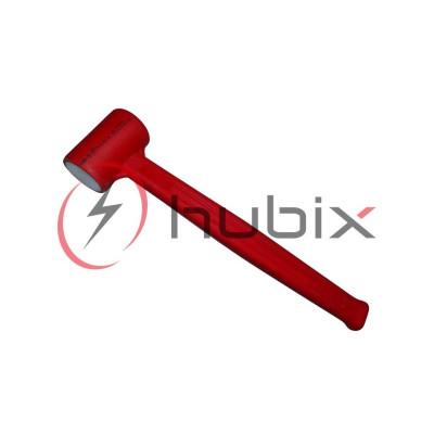 Молоток монтера изолированный HUBIX 300 г / HM-3