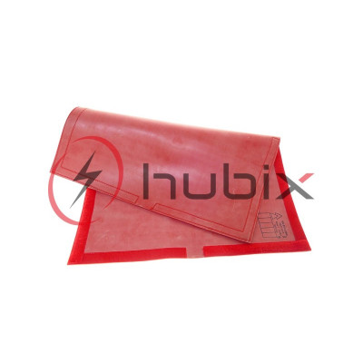 Покрывало резиновое HUBIX с липучкой велкро 600х400мм / H031-6X4-R