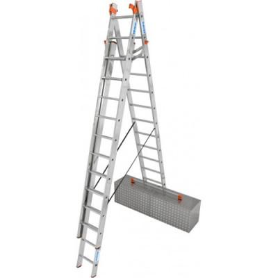 Универсальная 3-секционная лестница KRAUSE Tribilo 3x12 ст. TR